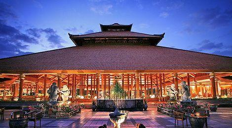 Balinese architecture - The Ayodya Resort and Spa Nusa Dua, Bali