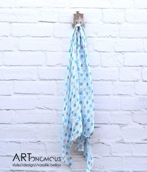 Polca dot scarf / artonomous.gr