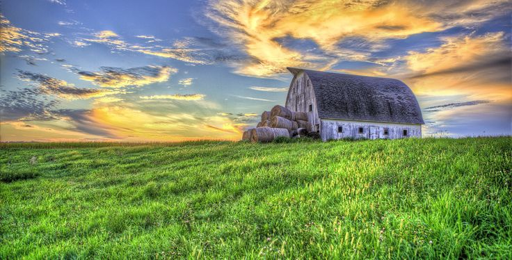 Iowa Landscape | Iowa Farm, Clarinda, Iowa... right in my area of God's Country. I love Iowa.