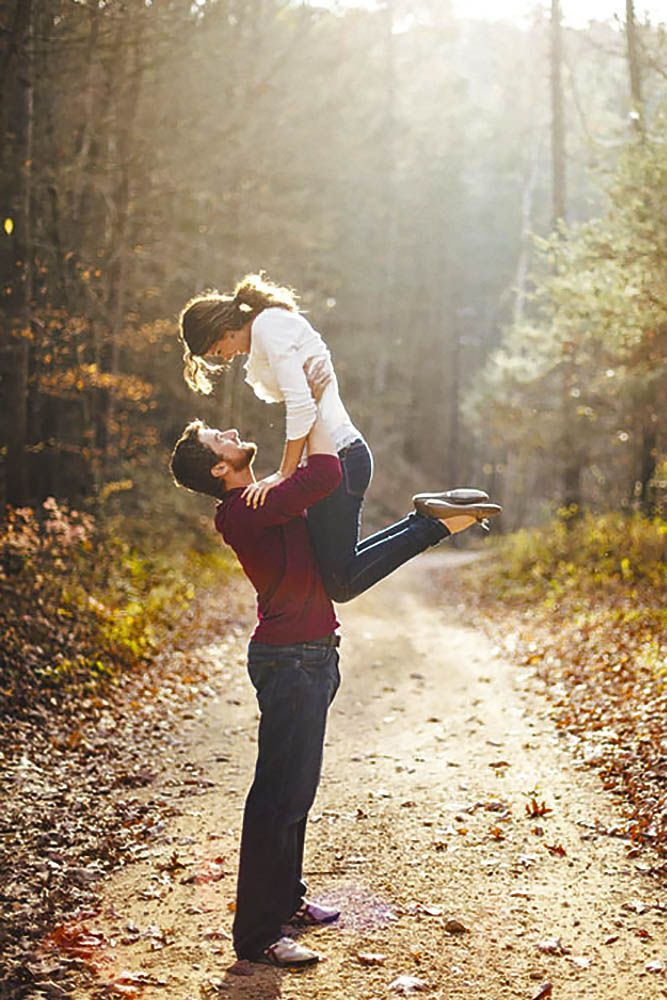 Engagement Photo Poses For Couples Part 1 ❤ See more: http://www.weddingforward.com/marriage-proposal-ideas/ #weddings