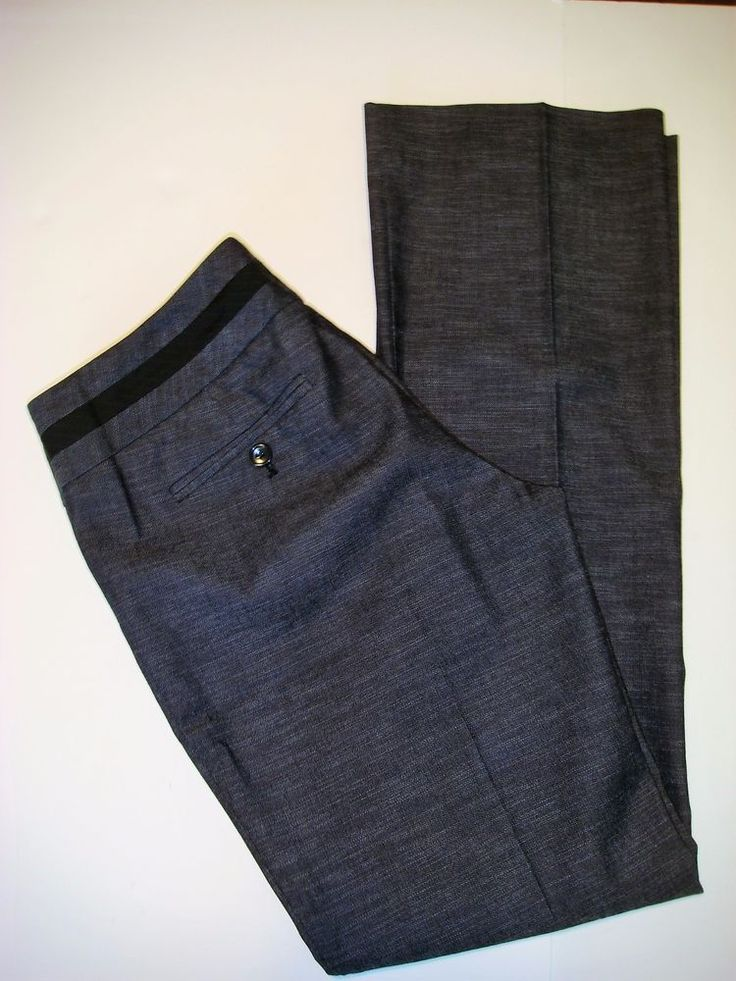 The Limited Collection Womens 6 Black Drew Fit Dress Career Work Slacks Pants #TheLimited #DressPants