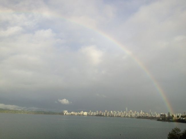 Vancouver under the rainbow