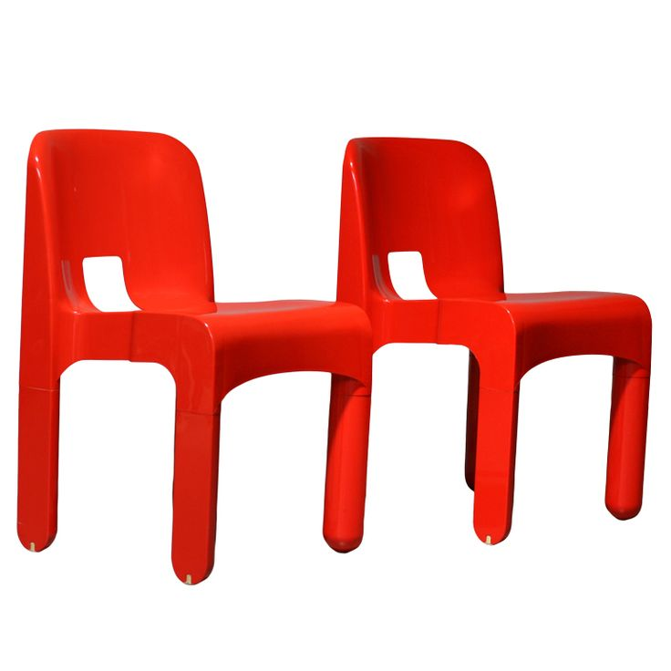 Joe Colombo 4867 Chairs By Kartell Stacking Chairs