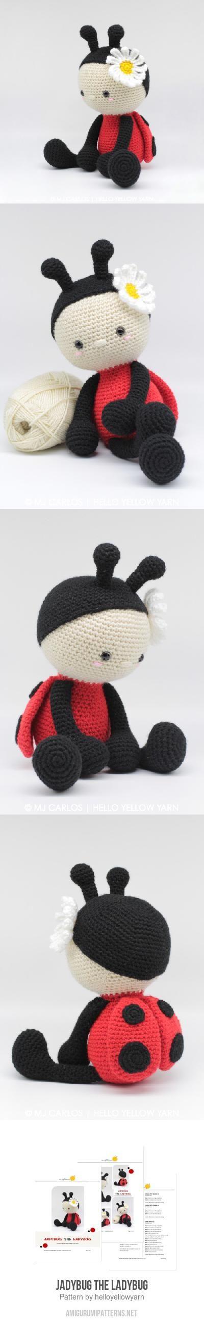 648 best crochet images on pinterest crochet ideas crochet jadybug the ladybug amigurumi pattern bankloansurffo Choice Image