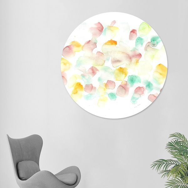 Discover «170725 Abstract Watercolour 7», Limited Edition Disk Print by valourine - From $99 - Curioos