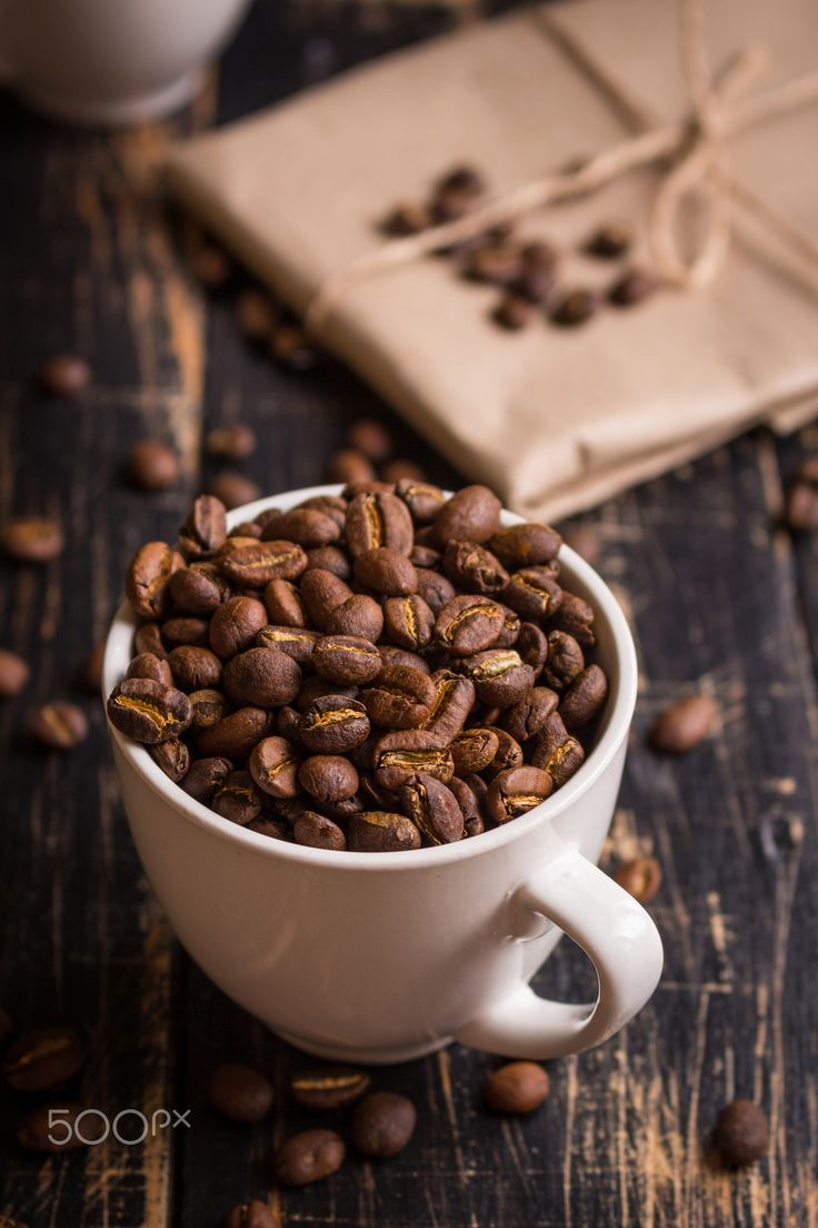 Coffee beans in a cups - Roasted coffee beans in a cups #roasted #coffee #florida #chosenbean http://www.thechosenbean.com