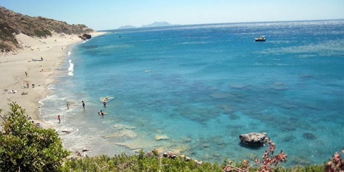 Ligres Beach in Agios Pavlos, Rethimno, Crete