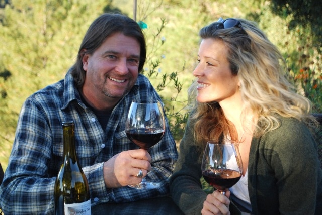 John and Laura Wright of Standing Sun Winery in Buellton ...