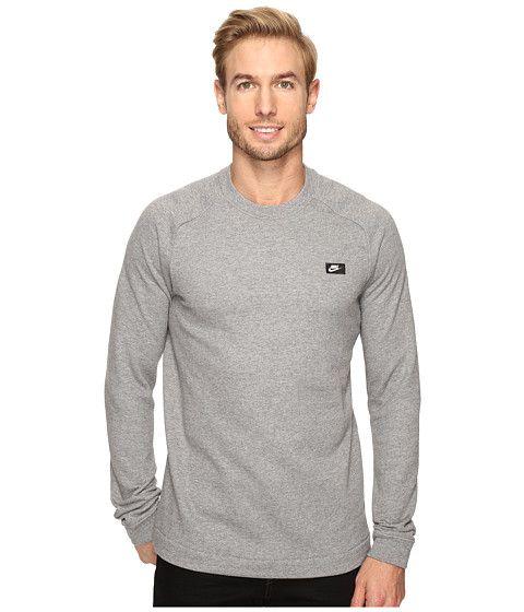 Nike Sportswear Modern Crew Carbon Heather - Zappos.com Free Shipping BOTH  Ways