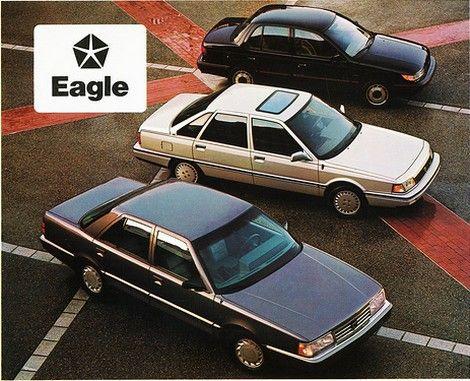 La gamme Eagle en 1990 garde des accents très français avec la Premier (R25) et la Medalion (R21).