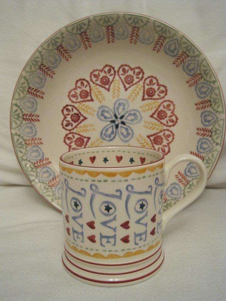 Beautiful Emma Bridgewater pottery