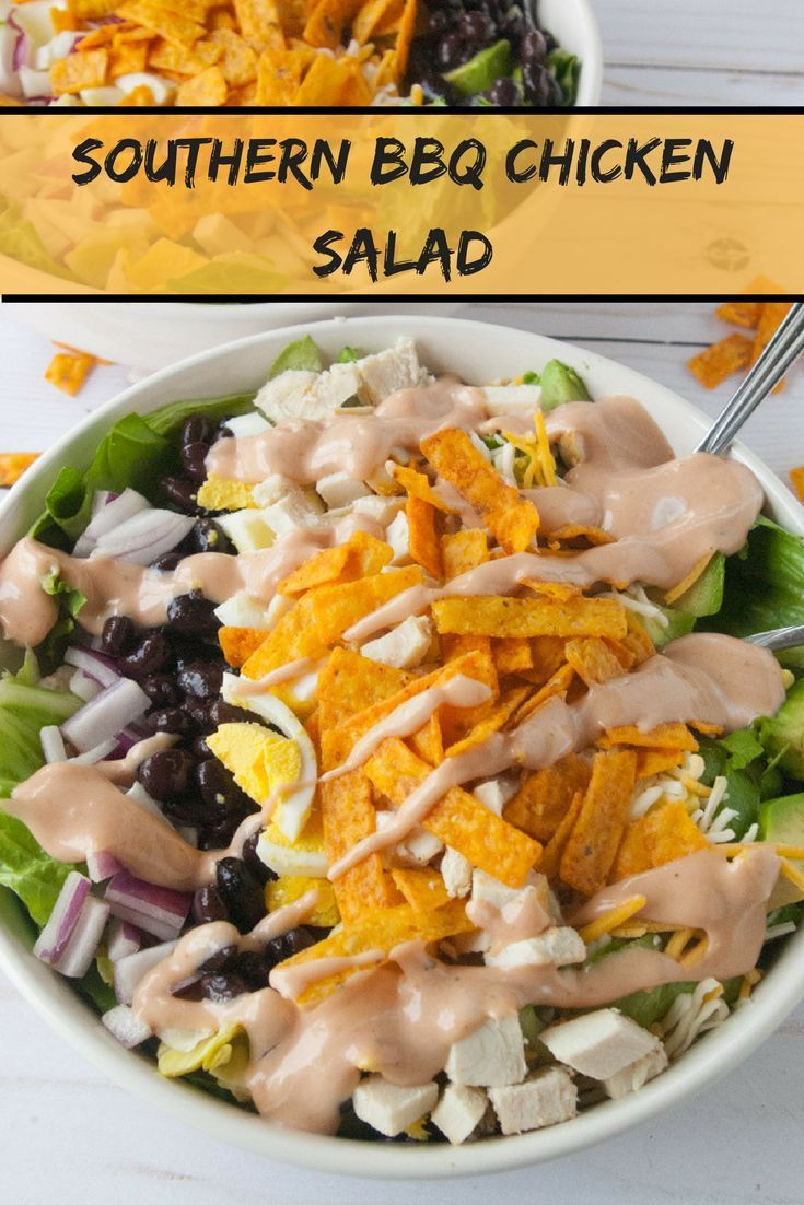 Pin By Corenda Yamauchi On Vegetable Nourish Chicken Bbq Chicken Salad Healthy Salad Recipes Chicken Dinner Recipes