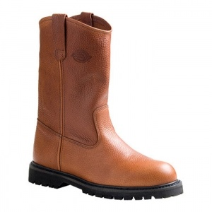 Mens Dickies Rogue Work boots Brown Leather - ONLY $101.45