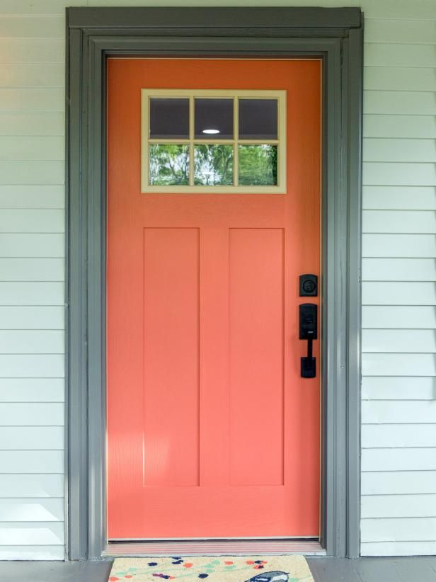 Curb Appeal Makeovers 30 Before And After Photos Hgtv Front Door Paint Colors Painted Front Doors Exterior Front Door Paint Colors