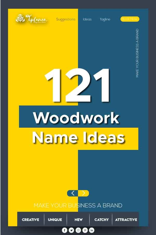 151 Unique Woodwork and Carpentry Company name ideas ...