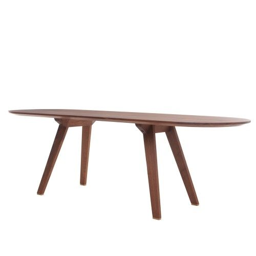 The Together Table - Extending. Narrower than normal dining tables to create an intimate atmosphere.