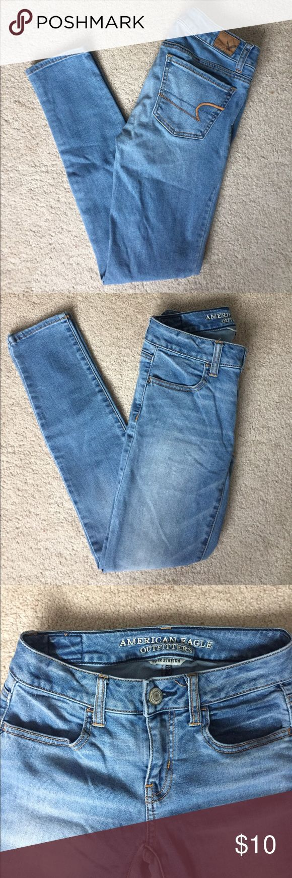 American Eagle Jeggings American eagle Jeggings. Size 0. Great condition!! American Eagle Outfitters Jeans Skinny