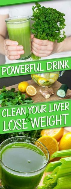 Make this powerful drink for liver cleaning and get rid of extra weight without too much effort.
