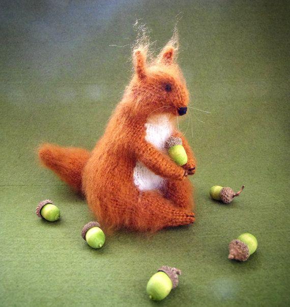 Eichhörnchen Squirrel Leticia von ArtlessTM auf Etsy