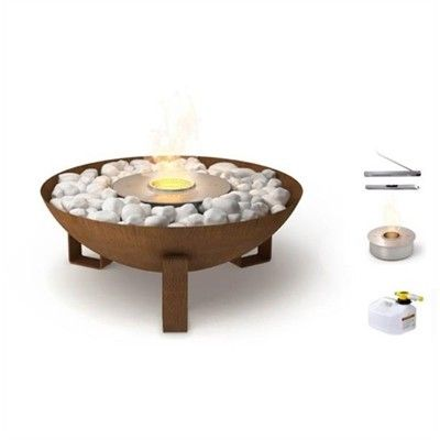 19 best home great homewares sites images on pinterest for Ethanol outdoor fire pit