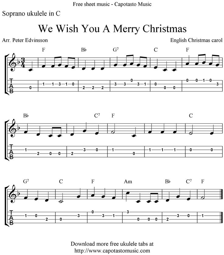 54 best Ukulele Christmas Songs images on Pinterest | Ukulele ...