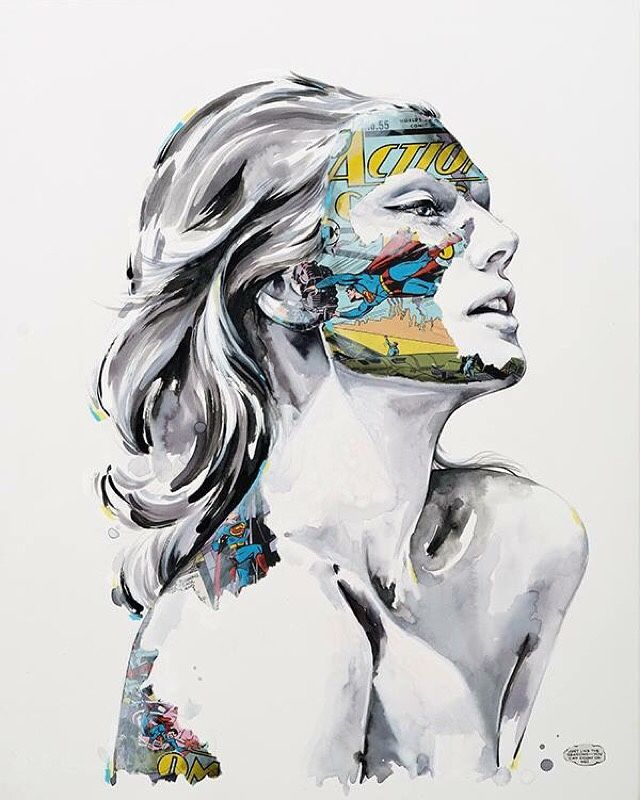 beautifulbizarremagazine: 'La Cage comme les saisons' [Mixed media on paper] by Sandra Chevrier in beautiful.bizarre issue 011  Get the beautiful.bizarre art book for Christmas! ~ IN PRINT VIA OUR STOCKISTS: www.beautifulbizarre.net/stockists IN PRINT OR DIGITAL ONLINE: www.beautifulbizarre.net/shop | Visualgraphc