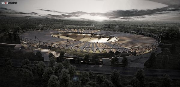 cinder stadion. vizuals for ATI architects