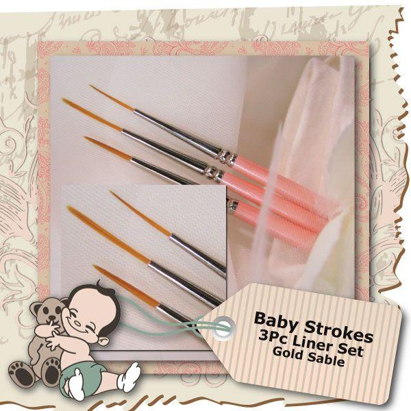 Baby Strokes 3 Piece Liner Set