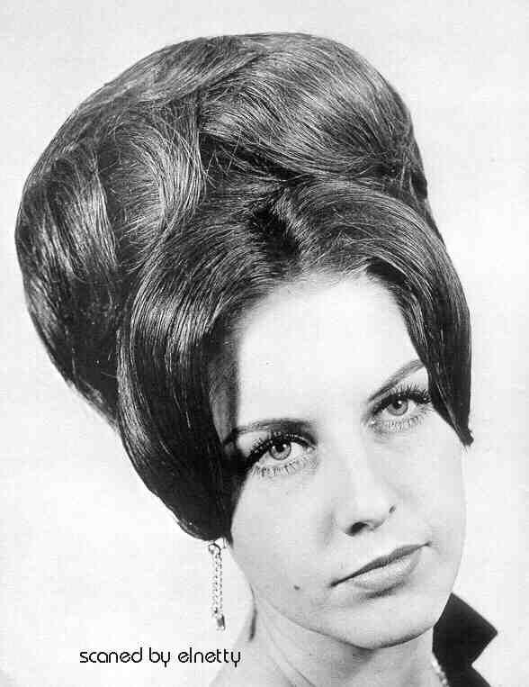 Haare 60er frisur