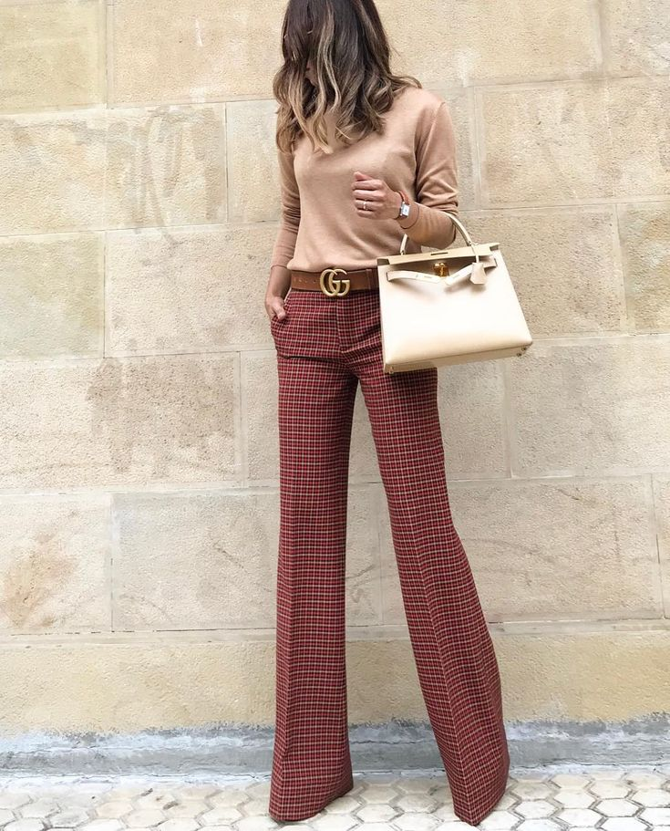 � •Sweater + Pants #zara Zara Lamey •Belt #gucci gucci •Bag #hermes Ange…