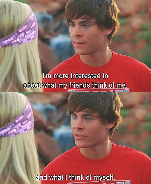see this is good. But we all know the reality is zac efron is the hottest human to ever walk the earth.