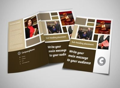 Images And Text Should Balance Each Other Out On Your Brochure.