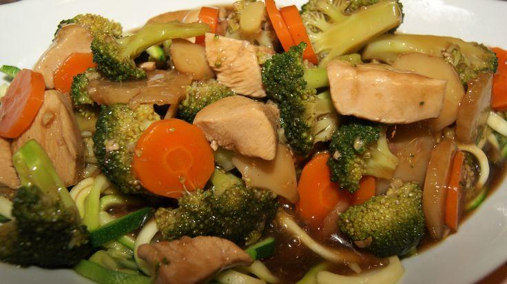 Glad i kinesisk mat? Her er en sunn og næringsrik variant av chop suey. Mange gode smaker, enkel å lage, lite kalorier og full av vitaminer.  Ingredienser 6 dl Vann 1 Hønsebuljong 2 – 3 fedd …