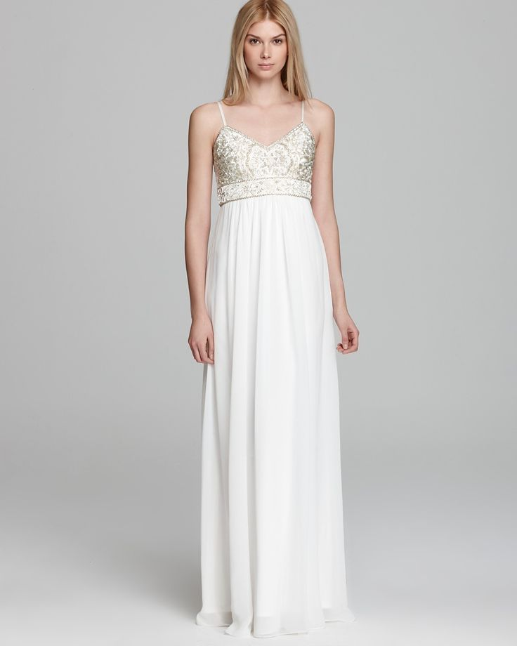 Sue Wong Gown - Chiffon Skirt | Bloomingdale's