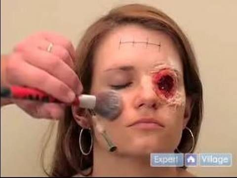 ▶ Halloween Makeup Tips: DIY Fake Wounds Special Effects : Scary Makeup Tips for Halloween - YouTube