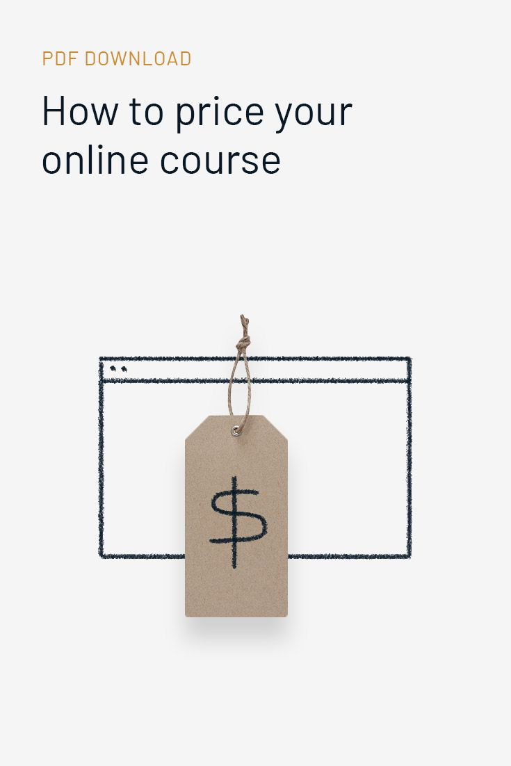 Choosing a price for your online course is a critical step