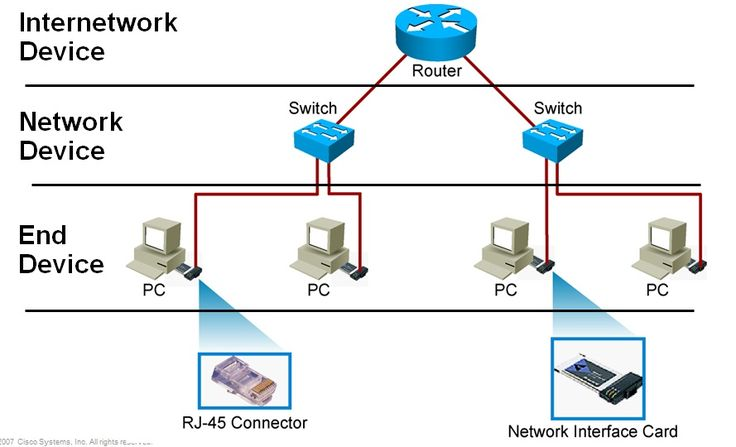network components Computer network components - what you need to know: the items that are to be connected and the equipment that connects them.