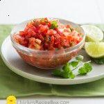 Salsa Recipe with Fresh Tomatoes | Best Recipe Box