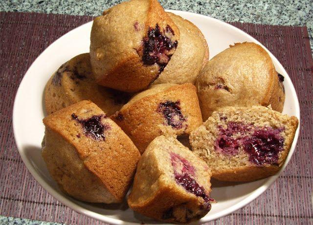 Muffins de Amora
