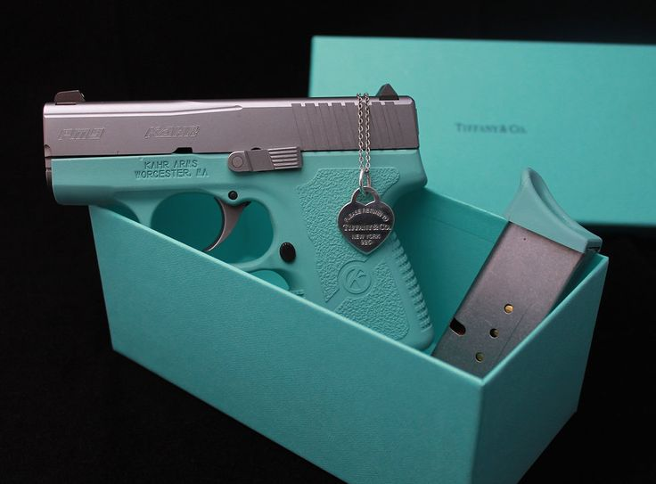 OK so I would never own a pink gun even if someone paid me to. But...THIS IS TEAL, Y'ALL. My favorite color. I mean....I need this because reasons