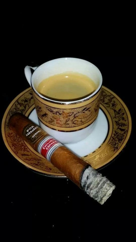 Cigars and coffee : best dessert
