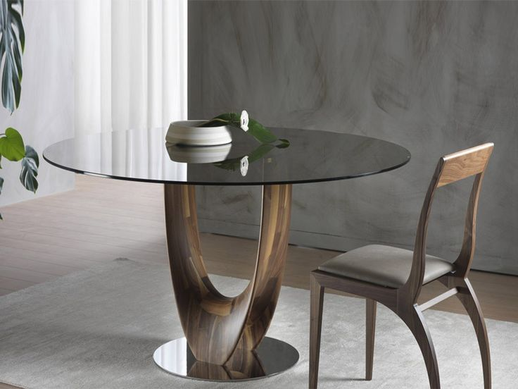 Glass Tables round glass table. kitchen clio modern round glass kitchen table