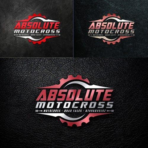 Absolute Motocross - Motocross logo design Motocross bike and quad sales