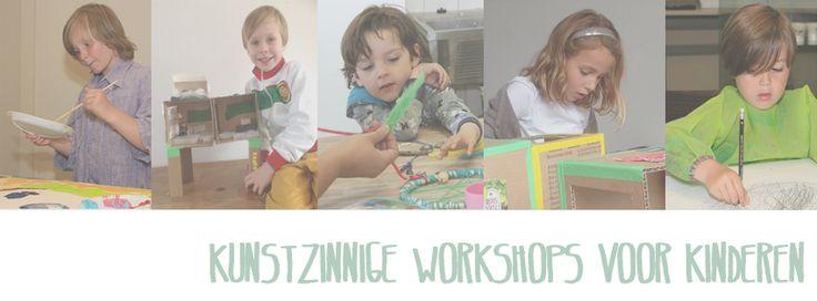Artworkshops for kids. Check www.facebook.com/meestertjes