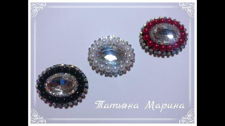 МК Красивое украшение для бантиков/Beautiful decoration for bows/Bela de...