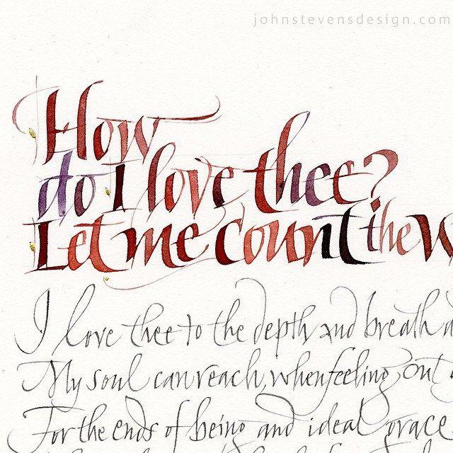211 Best Calligrapher John Stevens Images On Pinterest