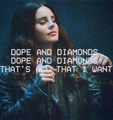 Lana del Rey lyrics money power glory