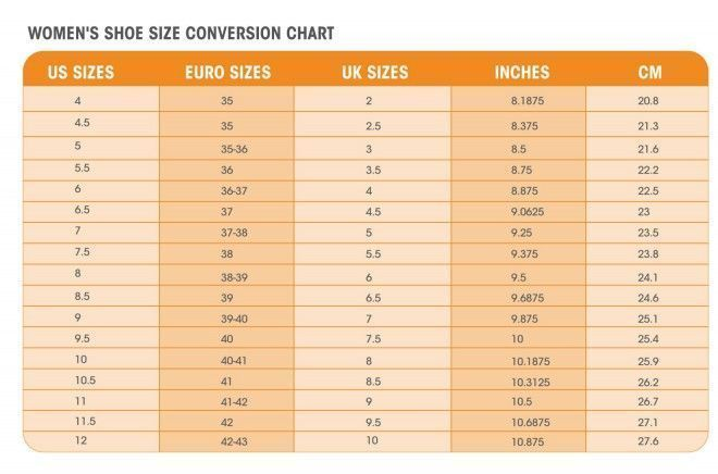 Chart To Convert Women S Shoe Size To Youth Or Kids Shoe Sizes Womenshoeschart Womenshoessizechart Size Chart For Kids Shoe Size Chart Kids Shoe Size