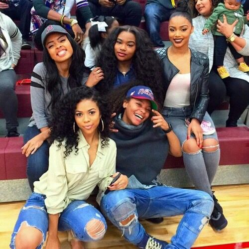 How me and the girls lookin at high school boys basketball