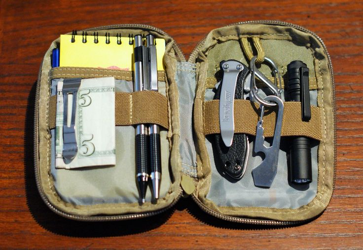 how to make a pocket knife pouch